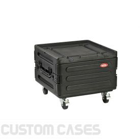 SKB Roto Molded Rack Expansion Case With Wheels