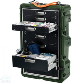 Peli MC8100 Medchest 8 Drawer for Emergency Response Supplies