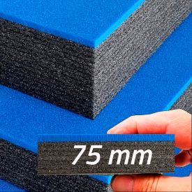 Multilayer Foam With Blue Top 75 mm (800x625x55mm)