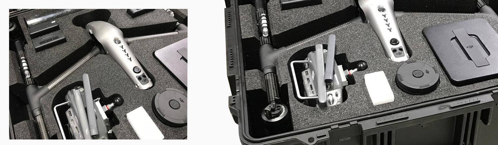 Custom foam for DJI Drones