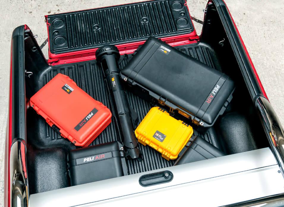 Peli Air Cases - 40 % lägre vikt