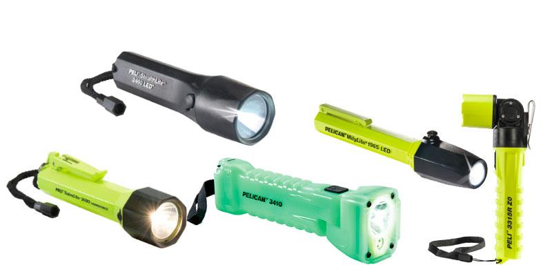 Peli Industrial Lights