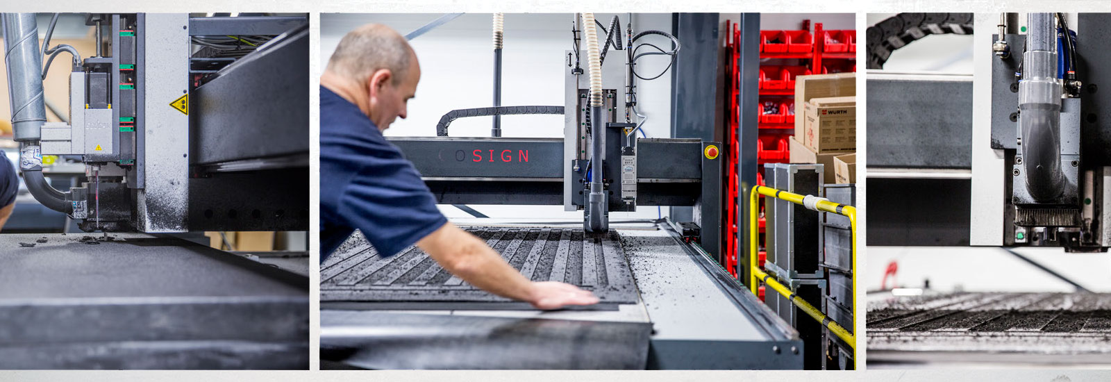 We manufacture and design Flightcases and all kinds of foam devices<